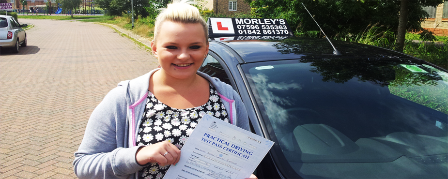 Driving instructor gary morley